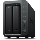NAS Synology DS716+II, 2 GB DDR3, 2 x HDD, 1.6 GHz