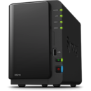 NAS Synology DS216+II, 1 GB DDR3, 2 x HDD