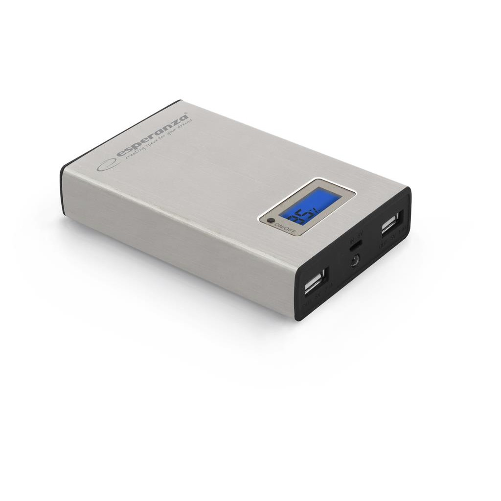 Baterie externa Esperanza EMP108S - POWER BANK KINETIC 8400mAh