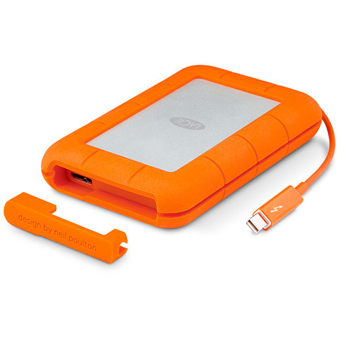 Hard disk extern Rugged V2, 1TB, 2.5 inch, USB 3.0/ Thunderbolt, IP54