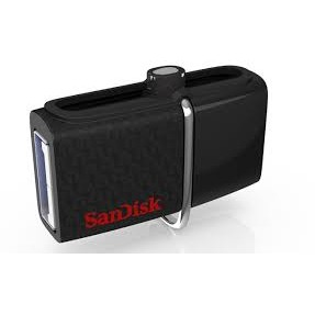 Memorie USB Stick Sandisk Flashdrive Ultra DUAL SDDD2-016G-GAM46, 16GB, USB 3.0, viteza scriere 130MB/s (for Android)