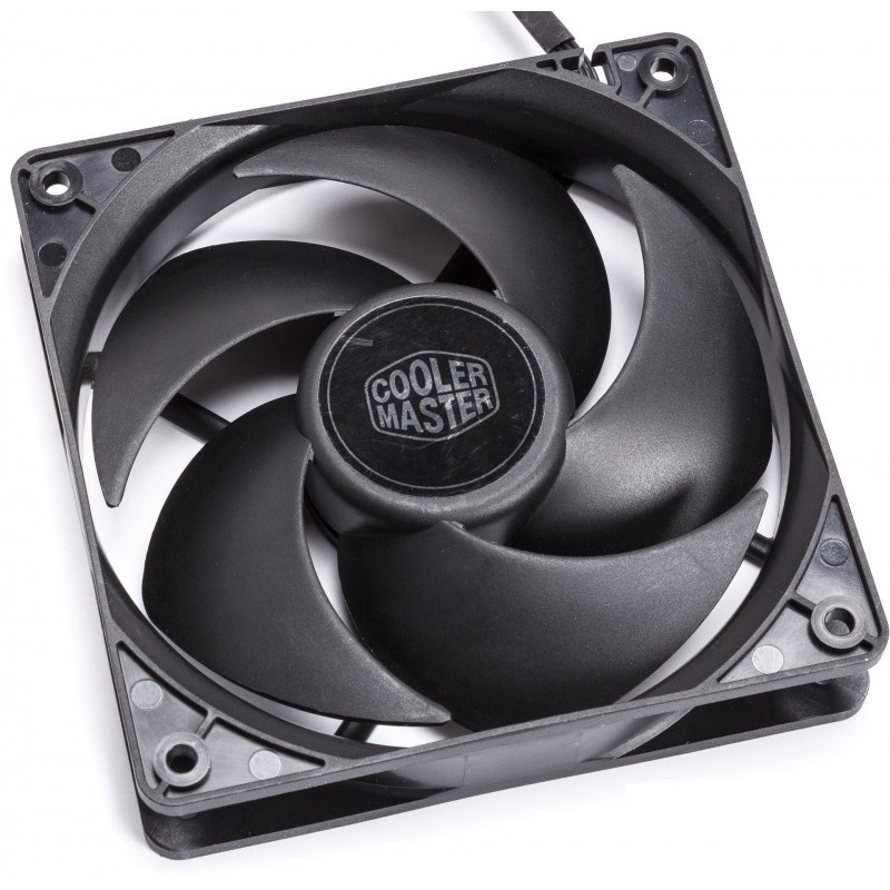 FAN FOR CASE COOLER MASTER Silencio FP120 PWM 120x120x25 mm, 14 dBA (max.), LD bearing R4-SFNL-14PK-R1
