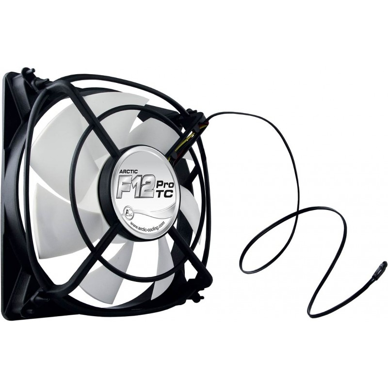 Ventilator F12 Pro TC 120x120x25 mm, senzor temperatura, low noise FD bearing AFACO-12PT0-GBA01