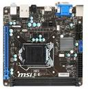Placa de baza Intel 1150 MSI H81I 7851-040R