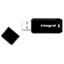 Memorie USB Memorie Integral USB INFD32GBBLK, 32GB, USB 2.0 with removable cap, negru