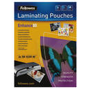 Fellowes Folie Laminator Fellowes, A4, 80 / 125 microni, gri metalic