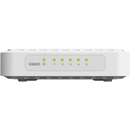 Switch Soho GS605v5, 5 porturi x 10/100/1000 Mbps, fara management