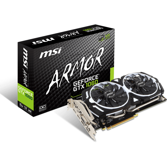 Placa video GeForce GTX 1060 OC V1, 6GB GDDR5 (192 Bit), 2xHDMI, DVI, 2xDP