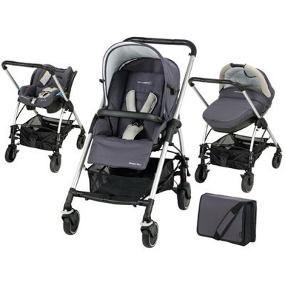 Carucior Trio Streety Total Black