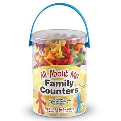 Family Counters - 72 Pieces