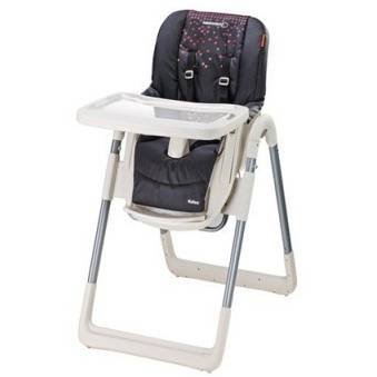 Scaun de masa Bebe Confort High Chair Kaleo Aristo Black