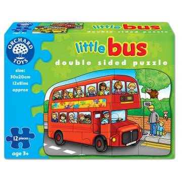 Orchard Toys Little Bus (Double Sided Puzzle)