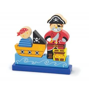 New Classic Toys Magnetic 3D Pirate