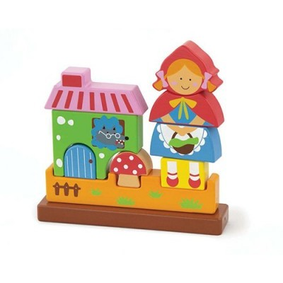 Magnetic 3D Red Riding Hood