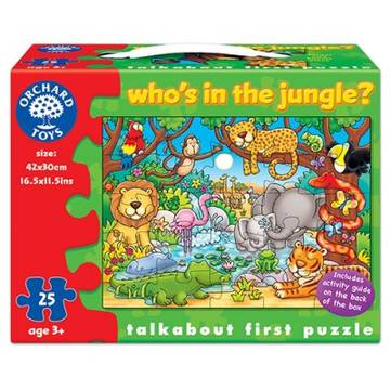 Orchard Toys Who's In The Jungle?