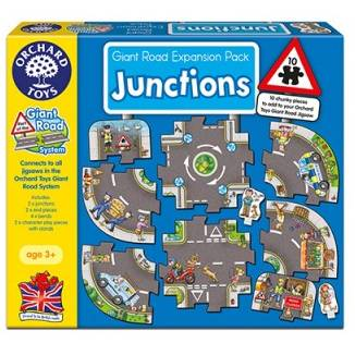 Orchard Toys Giant Road Expansion Pack Junction