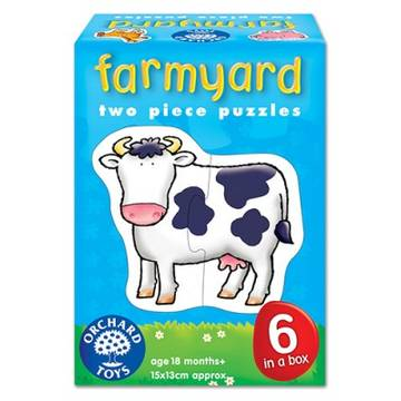 Orchard Toys Farmyard - Two Piece Puzzles