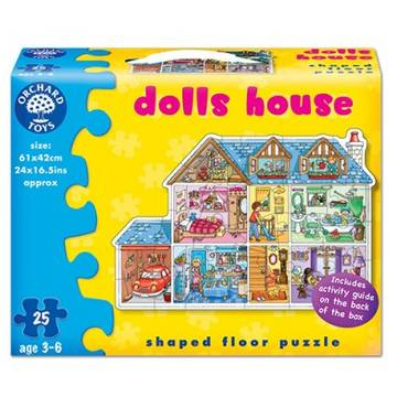 Orchard Toys Dolls House - 25 Pieces
