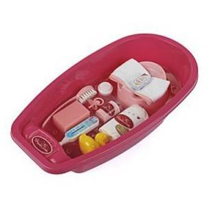 Klein Princess Coralie Bathtub Set With Accessories