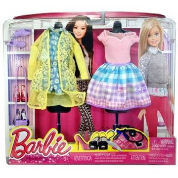 MATTEL Barbie Mode Look Fashion Pack 2