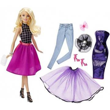 MATTEL Barbie BRB Fashion Mix'n Match Blonde Doll