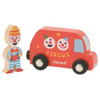 Janod My Story - Clown & Bus