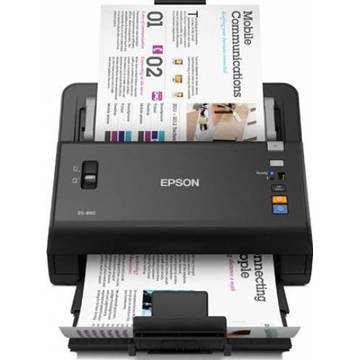 Scanner Epson WorkForce, DS-860, A4, negru