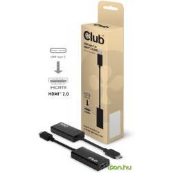 Club 3D Cablu CAC-1504, USB 3.1 Typ C to HDMI 2.0 adaptor