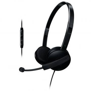 Casti Philips SHM3560, 3,5 mm, negru
