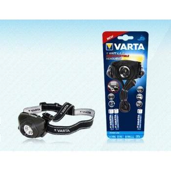 LED Indestructible HEAD Light 1W (+3xAAA) 100 lm VARTA