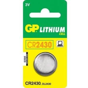 GPBATTERIE Baterie Lithium 4891199003738 - CR2430-U1, GP Batteries CR2430-U1, 3.0V, 1 bucata