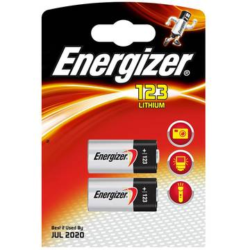 Baterie 7638900168495, ENERGIZER Photo Lithium, 123, 3V, 2 bucati