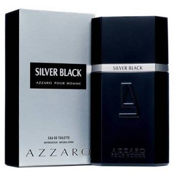 Azzaro Silver Black Eau de Toilette 50ml