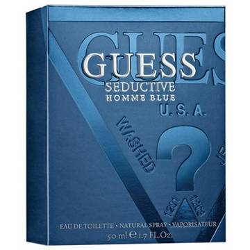 Guess Seductive Homme Blue Eau de Toilette 50ml