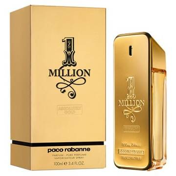 Paco Rabanne 1 Million Absolutely Gold Eau De Parfum 100ml