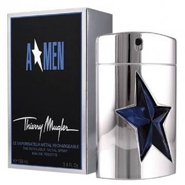 Thierry Mugler AMen Metal Edition Refillable Eau de Toilette 100ml