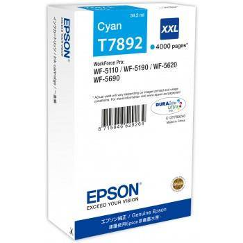EPSON T7892 CYAN  INKJET CARTRIDGE