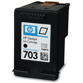 Cartus HP 703 negru | 4ml | DJ D730/F735