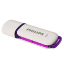 USB PHILIPS FM64FD70B/10, USB 2.0, 64GB, SNOW EDITION PURPLE, violet
