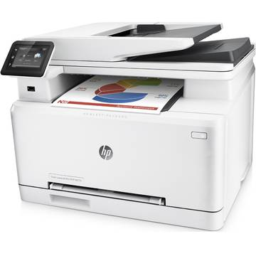 Multifunctionala HP Color-LaserJet Pro 200 M277n MFP, Color, Format A4, Retea
