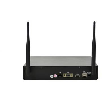 PNI Kit supraveghere video House WiFi 400 NVR si 4 camere wireless, 1.0MP