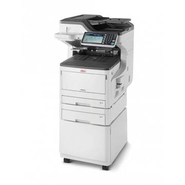 Multifunctionala OKI MC873dnct, A3, LED, color, MFP, Duplex, USB, alb