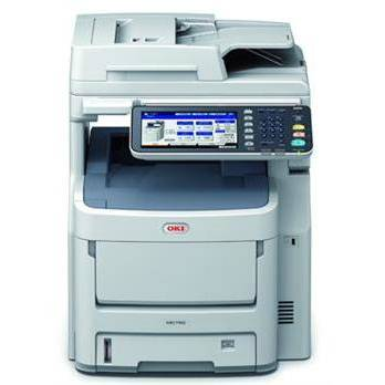 Multifunctionala OKI MC760dn, laser color, fax, A4, USB, alb-gri