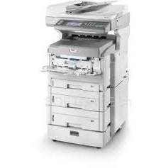 Multifunctionala OKI MC861cdxn+, laser color, A3, Fax, USB, dupex, alb