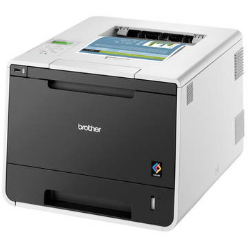 Imprimanta laser Brother HL-L8350CDW, COLOR, LASER, 30PPM, A4, LCD, negru-alb