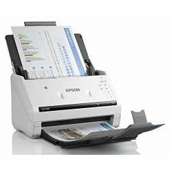 Scanner Epson WORKFORCE DS-570W, A4, Wireless, USB 3.0, Monocrom, alb