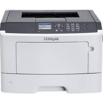 Imprimanta laser Lexmark MS510DN, PRINTER KIT, 4YRS WARR., A4, Duplex, USB 2.0, alb-gri