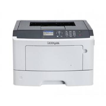 Imprimanta laser Lexmark MS415DN, PRINTER KIT, 4YRS WARR., A4, Duplex, USB 2.0, alb-gri