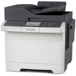 Multifunctionala Lexmark CX410DE, 4IN1, COLORLASER, A4, Duplex, alb-gri