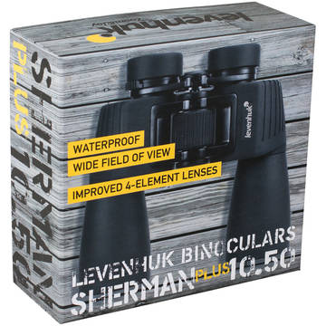 Binoclu Levenhuk Sherman Plus, 10x, 50 mm